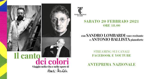 """""""Il canto dei colori"""", anteprima online il 20.02.2021"""