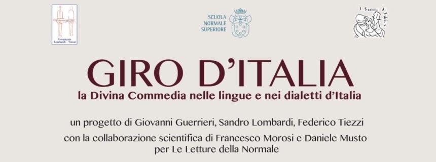 GIRO D'ITALIA nei dialetti italiani della Commedia – DanteDì 2021