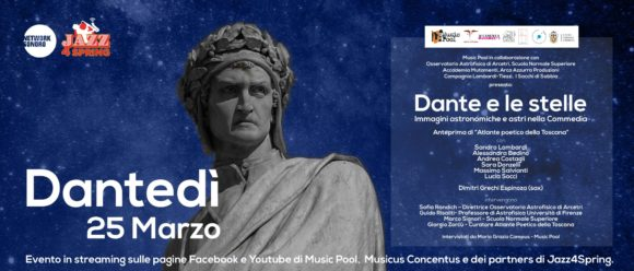 Atlante poetico della Toscana per DanteDì 2021