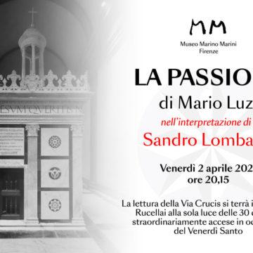 """""""La passione"""" di Mario Luzi per il venerdì santo letta da Sandro Lombardi"""
